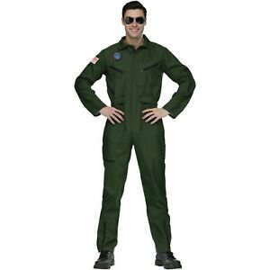 Top Gun Aviator Adult Halloween Costume  Onesize