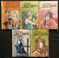 Les Bijioux Manga 1, 2, 3, 4, 5 Graphic Novel OOP COMPLETE Fantasy
