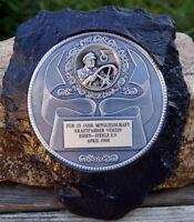 große Plakette Medaille Andenken Kraftfahrer Verein Essen-Steele Sammlerstück