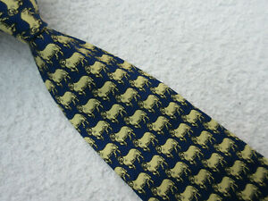 NOVELTY SHEEP RAM 4 INCH polyester necktie TIE from C H MUNDAY