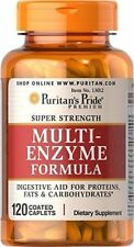 MULTI ENZYMES FORMULA  120 TABLETS, FOOD INTOLERANCE AND DIGESTION