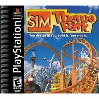 Sim Theme Park (Playstation) PS1 PSX