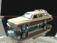 1975 BUICK ESTATE WAGON LIMITED EDITION ADULT COLLECTIBLE 1/64 LAND YACHT BROWN