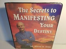 Wayne Dyer The Secrets To Manifesting Your Destiny 7 Cassette Tapes Nightingale