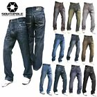 SOUTHPOLE 4180-1043 Mens Relaxed Fit Jeans Dark Light Black Rinse Sand Blue