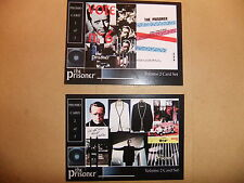 Patrick McGOOHAN THE PRISONER vol 2 FAN CLUB PROMO CARDS SET