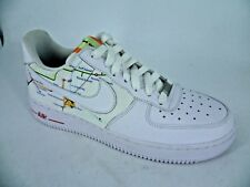 Mean Feet Customised Nike Air Force 1 White Trainers UK 6 EU 40 LN180 QQ 05