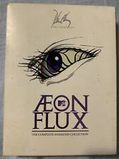 Aeon Flux Director's Cut Dvd Set Complete Animated Collection Peter Chung Mtv