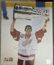 DARREN MCCARTY Signed 16 x 20 PHOTO 2002 STANLEY CUP AUTOGRAPH DETROIT RED WINGS