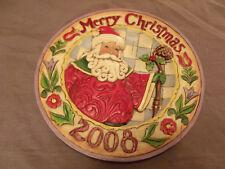 "Jim Shore Merry Christmas 2008 Heartwood Creek ""Season of Merriment"" 4010895"