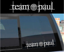 """Team Paul"" Sticker Decal for Twilight Wolf Pack & Jacob w/ tattoo design too!"