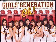 Girls' Generation SNSD: Oh (2012) JAPAN CD DVD TAIWAN