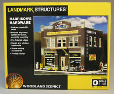 WOODLAND SCENICS HARRISON'S HARDWARE KIT o gauge train building town WDS5891