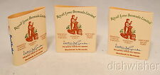 NEW 3 Sample Vials Royall Bay Rhum  Men All Purpose Lotion Cologne  Vintage
