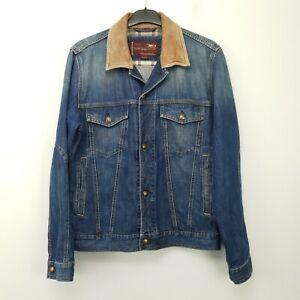 Marlboro Classics Mens  Denim Jacket Jeans MEDIUM Blue