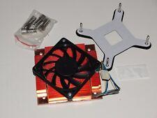 EKL Socket-775 CPU Kühler | 1U Voll-Kupfer (h=44mm)| mit 4pin 60mm PWM Fan | neu