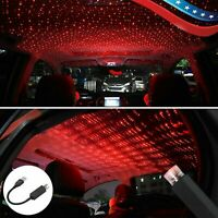 Lamp USB LED Auto Interior Light Starry Sky Projection Car Atmosphere Light