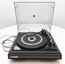 Vintage BSR 25CX McDonald Turntable Record Player TESTED WORKING NEEDS SERVICE