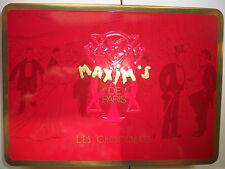 Boite Métal Maxim's de Paris Chocolats Collector