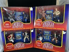(4) New Ventures 1995 American Heroes Action Figures Sets