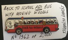 Back To School ' Red Bus' Pin Sydney 2000 Olympic (1962 Of 2500) Morning Wheels