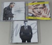 Michael Buble Crazy Love, It's Time & Christmas CD's Lot of 3