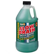 Slow Drain Build-Up Remover Clog Cleaner Toilet Sink Shower Disposal RV Marine