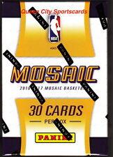 2015/16 2016/17 Panini Replay Mosaic Prizm Basketball Factory Sealed Hobby Box