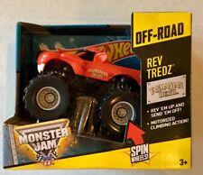 Hot Wheels Tasmanian Devil Monster Jam Off-Road Rev Tredz Toy Truck New