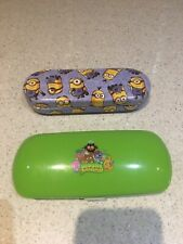 Childs Glasses Cases Minions And Moshi Monsters