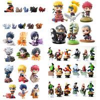 Naruto Shippuden Cake Toppers Party Toys Gift Figures Set : Sasuke Kakashi Gaara
