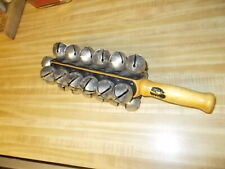 Vintage Concert band Orchestra Precussion Sleigh Bells cosmic percussion