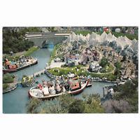 Disneyland Park Storybookland Aerial View Unused Postcard D3 circa 1950s