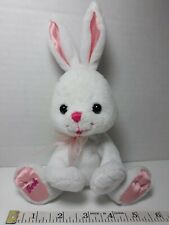 "8"" Bunny Rabbit Plush pink white Logo Barbie pet doll animal birthday gifts girl"