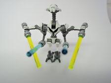 LEGO Figur Star Wars General Grievous + 4 Laserschwerter sw515  75040