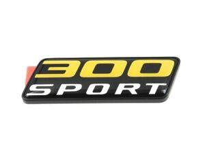 Genuine New JAGUAR 300 SPORT BOOT BADGE Rear Trunk Emblem For XE 2018+
