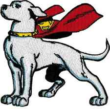 58022 Krypto the Superdog Dog Superman Character Comic Puppy Sew Iron On Patch