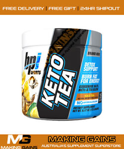 BPI Sports Keto Tea Ketogenic | 25 Serves | Only The CHEAPEST @ MAKING GAINS