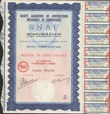 Snaf : Société Algerische von Bausteine Mécaniques & Eisenbahn (P)