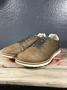 Skechers Go Golf Elite Brown Leather 53530EW SIZE 11.5 Shoes