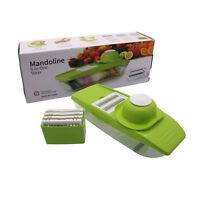 New Manual Vegetable Slicer Plus Fruit Peeler Dicer Cutter Chopper Nicer Grater*