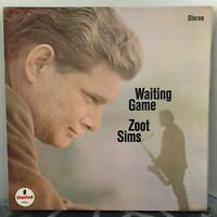 ZOOT SIMS Waiting Game LP 1966 Impulse AS-9131 ORIG US PRESSING EX / EX