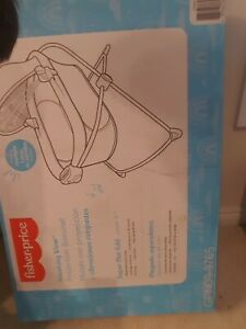 Fisher-Price Soothing View Projection Bassinet – Twinkling Starlight NEW