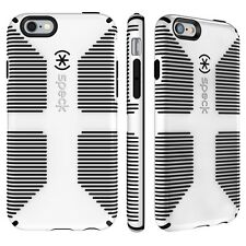 Speck CandyShell Agarre Estuche Apple iPhone 6 Plus Iphone 6s Plus-Blanco/Negro Nuevo
