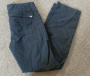 Womens North Face Black Walking Trousers Size 8
