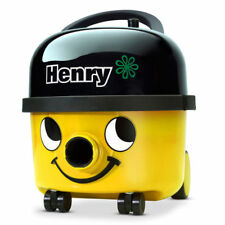NUMATIC Henry Dry Canister Vacuum  HVR200 YELLOW + 2 YR AU WARRANTY 620W 9L