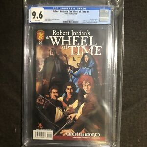 The Wheel of Time Eye of the World 1 CGC 9.6 1st Appearance Dabel Bro Comic 2009