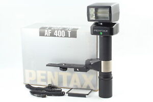 [Near MINT in box] Pentax AF400T Flash Unit w/ Cord Bracket For 6x7 67 II JAPAN