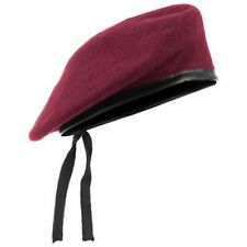 Men Red Style Mix Wool Military Special Force Army French Artist Hat Cap Beret