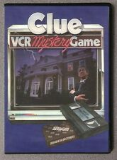 Clue VCR Mystery Game DVD
